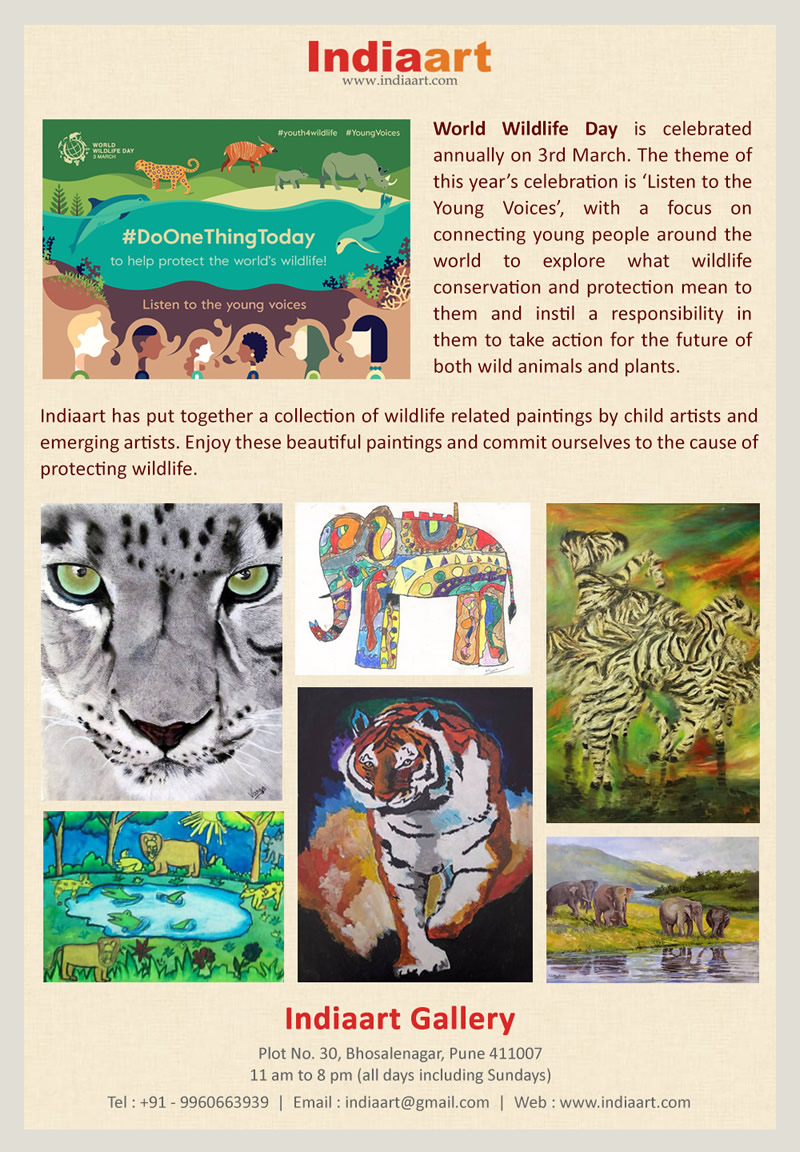 World Wildlife Day on Indiaart.com