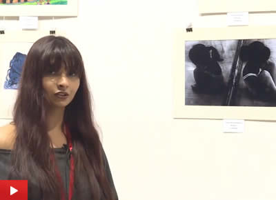 Soumya Ramchandran about her artwork