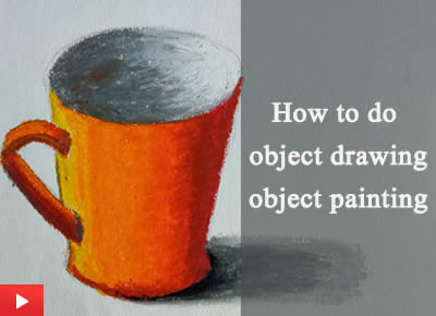 How to do object drawing and object painting