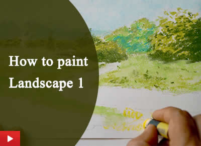 How to paint landscape and nature - 1
