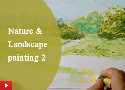 How to paint landscape and nature - 2