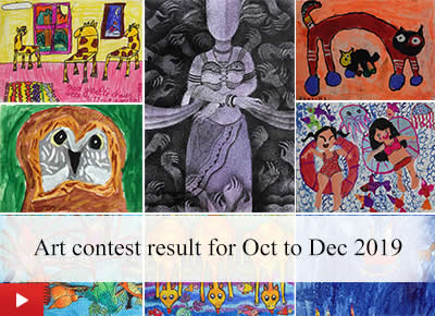 Art contest by Khula Aasmaan - result for October to December 2019