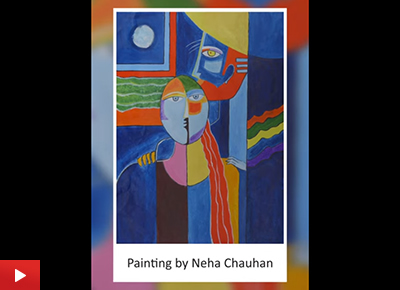 Man and Woman painting by Neha Chauhan (24 years)