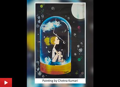 Digital art by Chetna Kumari (20 years)