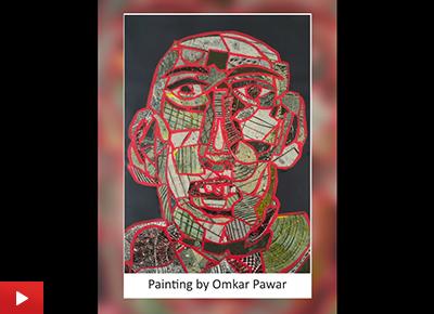 Self portrait by Omkar Pawar (20 years)