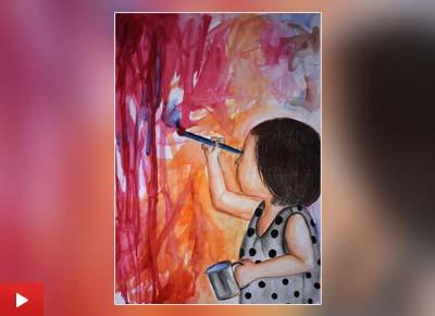 Nishtha Sharma (14 years) from Panchkula, Haryana talks about her childhood memory