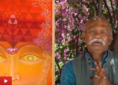 Kishor Randiwe talks about his painting series Realisation (Marathi)