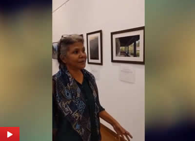 Milind Vishwas Sathe's photography exhibition at Mumbai in 2016 was visited by eminent artists