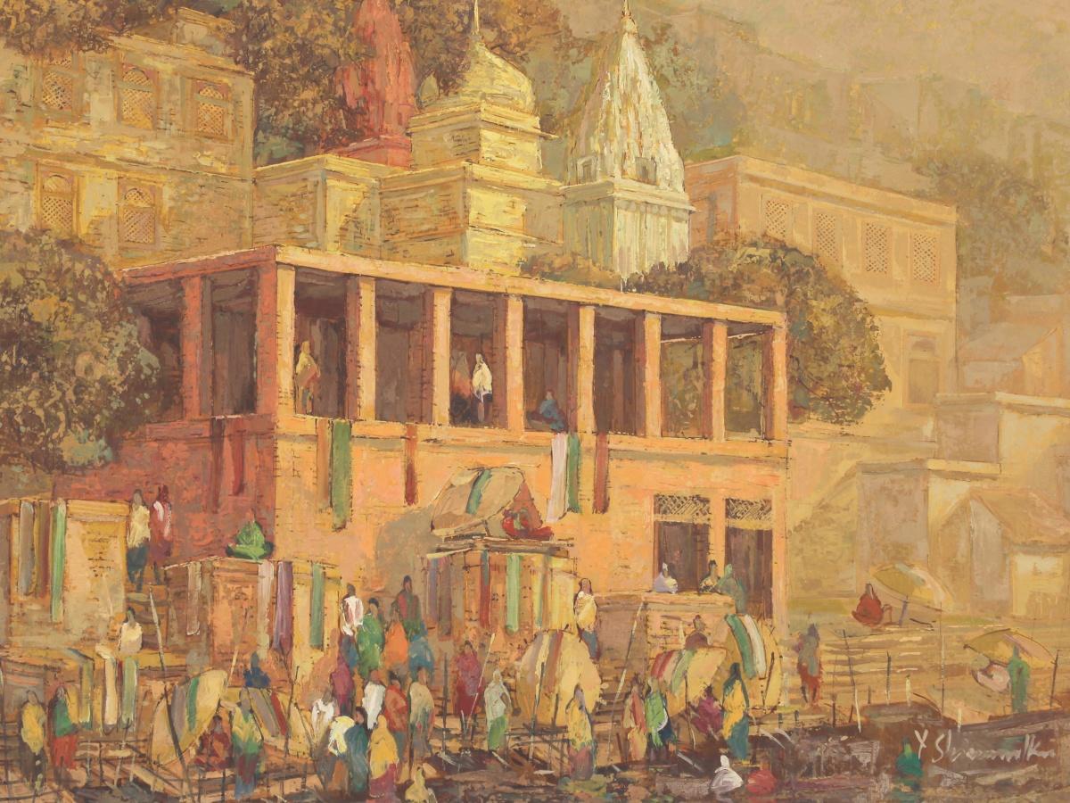Banaras by Yashwant Shirwadkar