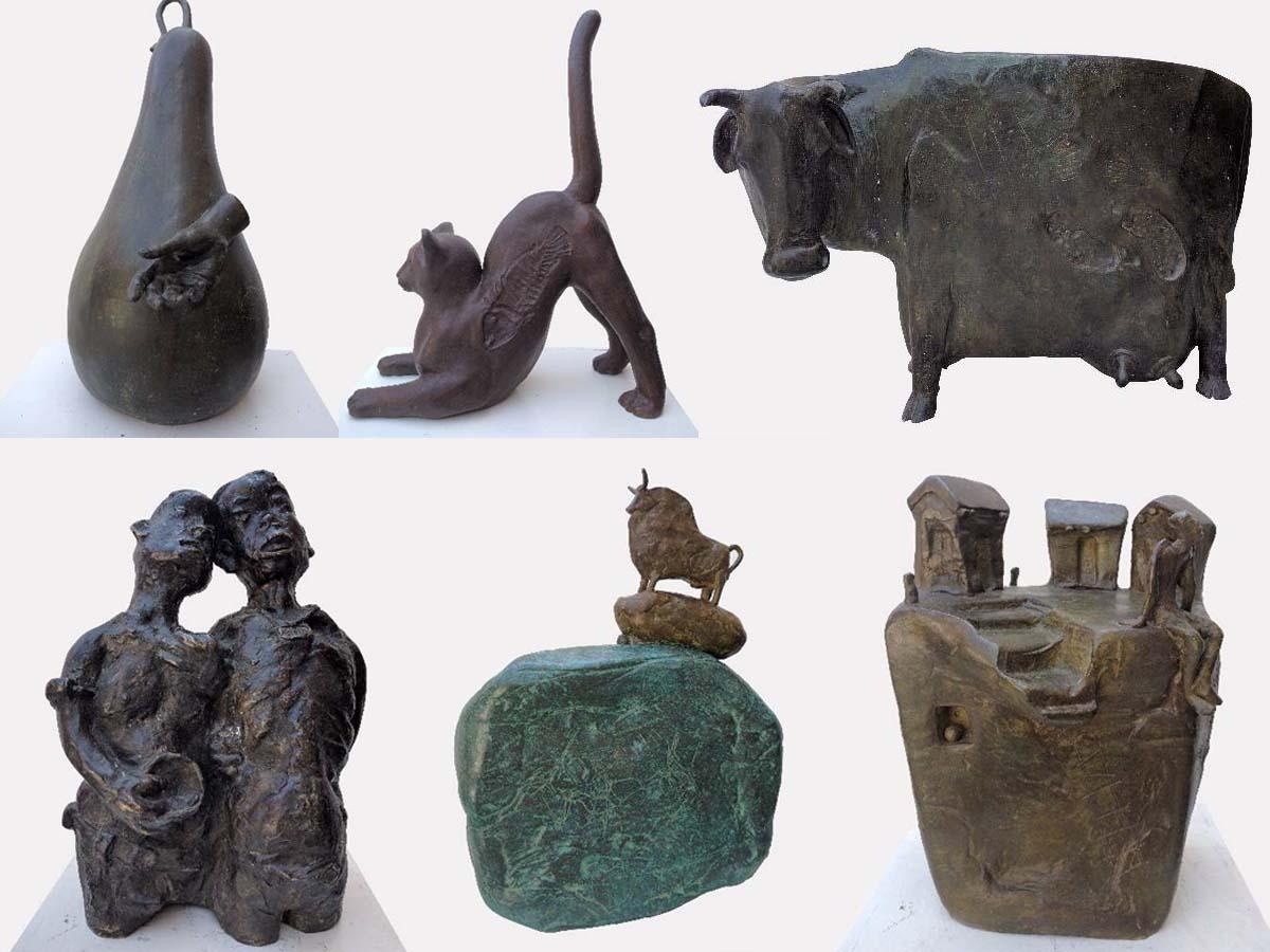 Bronze Sculptures by Tanmay Banerjee