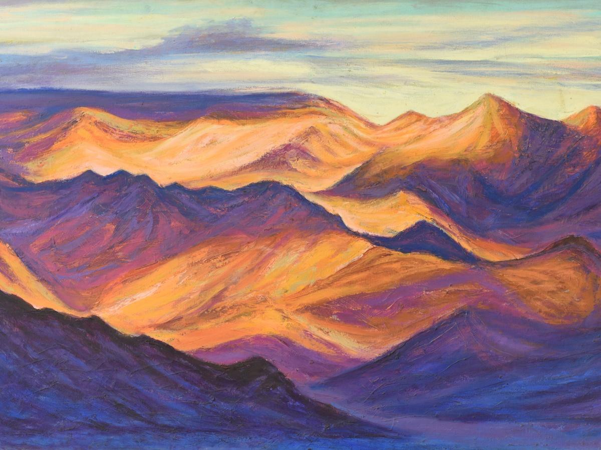 Himalayan Odyssey Paintings by Kishor Randiwe