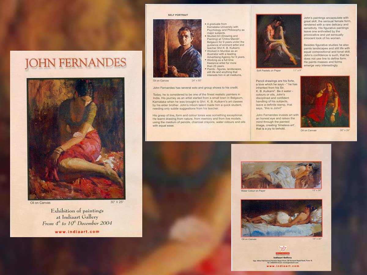 John Fernandes Exhibition of Paintings