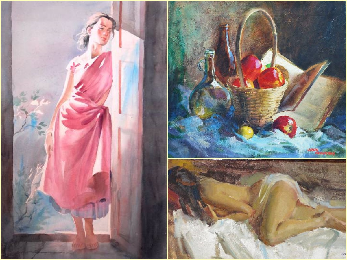 Remembering John Exhibition of paintings by John Fernandes