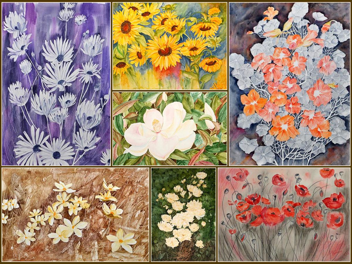 'Just Flowers' by Manju Srivatsa