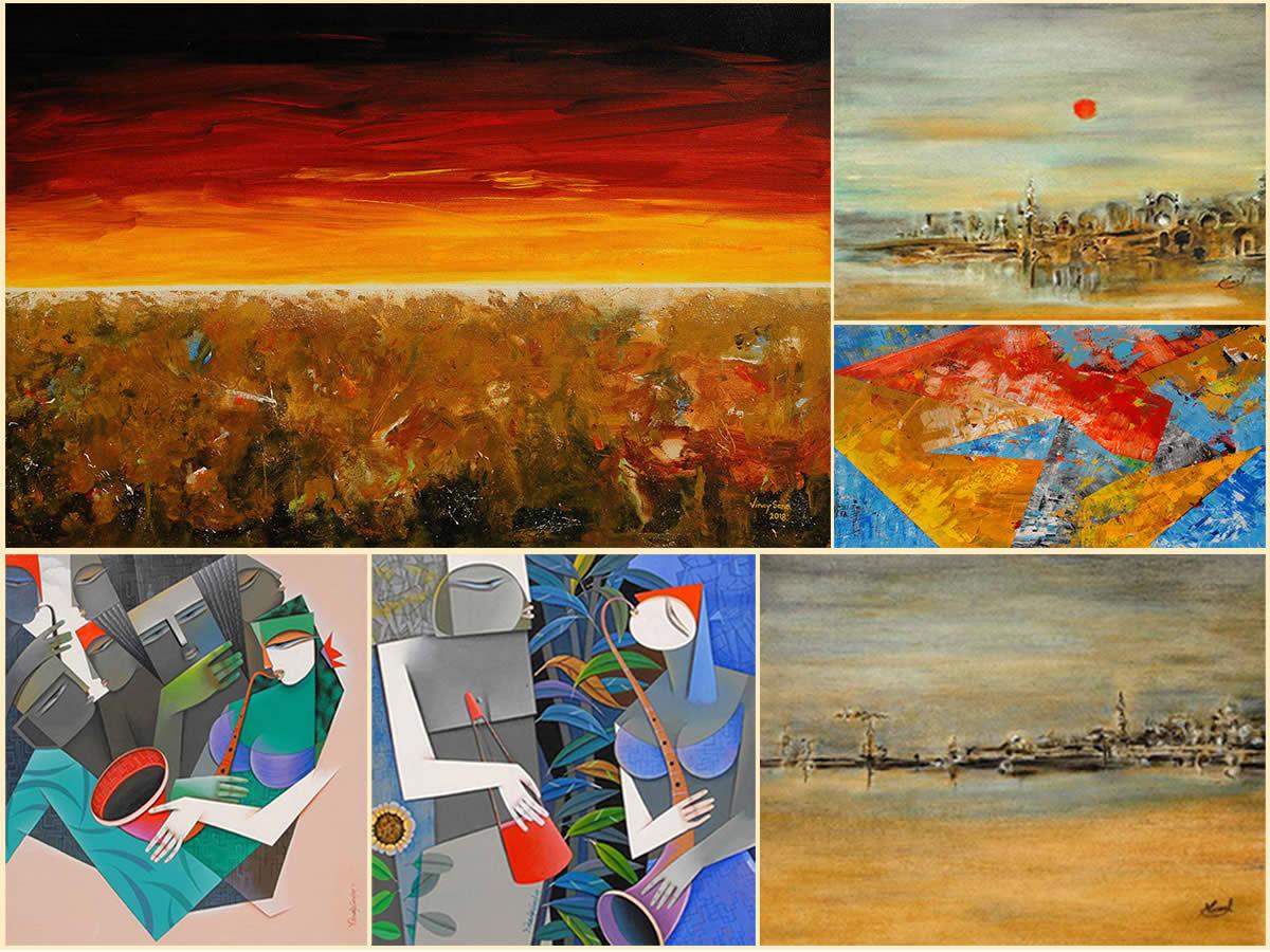 TRIO, Painitng exhibition by Pradip Sarkar, Nirmal Pathare, Vinay Sane