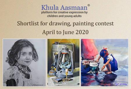 Shortlist - Art contest April to June 2020