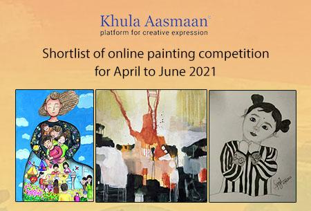 Shortlist of April to June 2021 Art Contest