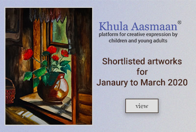 Khula Aasmaan - Art contest result - Jan to March 20