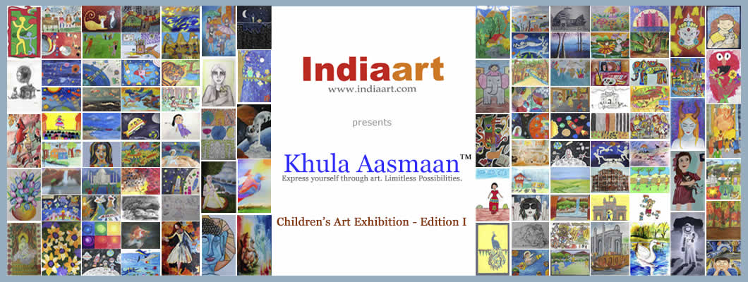 Khula Aasmaan - Children's Art Contest and Exhibition - 2015
