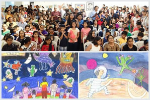 Khula Aasmaan - Children's Art Exhibition - Edition I (2016)