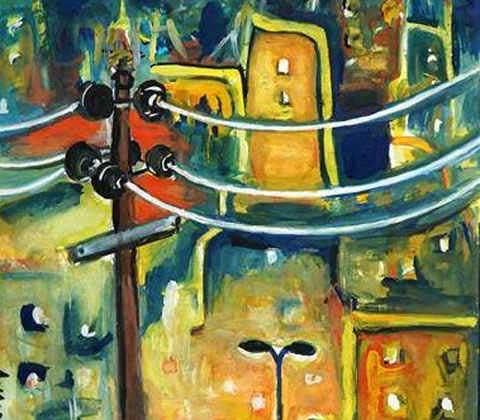 painting by Ananya Aloke