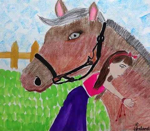 painting by painting by Asmi Walavalkar