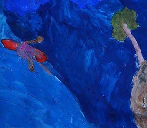 painting by Keya Potkar