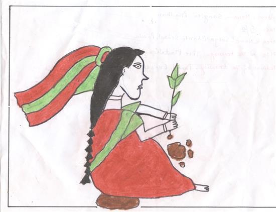 Sangita Prodhan (9 years), Bichhuti, West Bengal