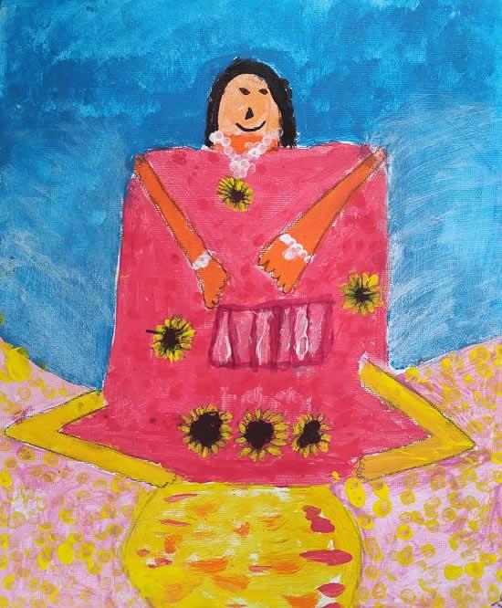 Saanvi Agarwal (6 years), Harrow, U.K.