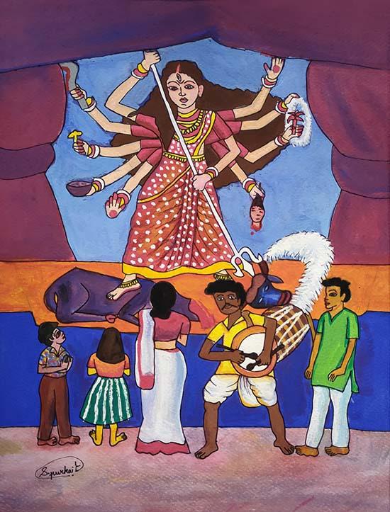 Sattwiki Purkait (15 years), Nala Sopara West, Mumbai, Maharashtra