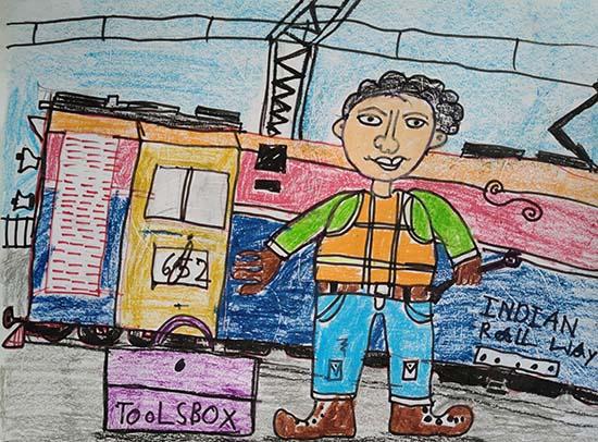 Shourik Routh (7 years), Kolkata, West Bengal
