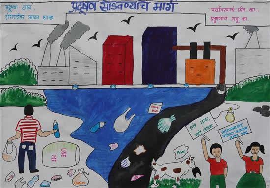 Gauri Narendr Kale, Class 8th