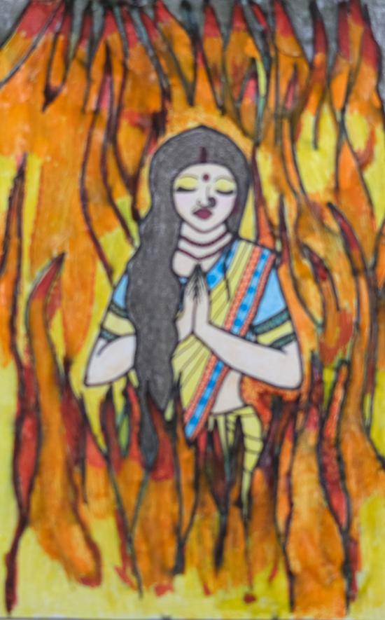 G. Makila (23 years), Chengalpet, Tamil Nadu