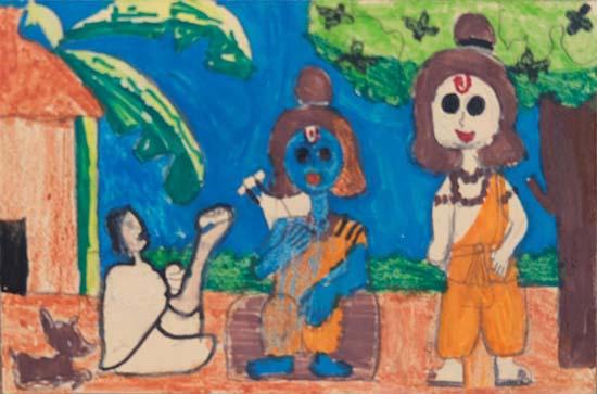 Pratyaksh (10 years), Dilshad Garden, Delhi