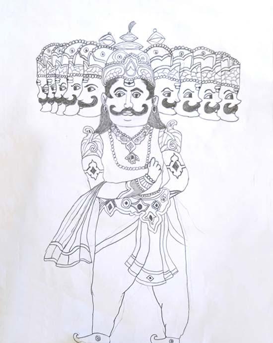 Singh Anandraj (12 years), Gozaria, Gujarat