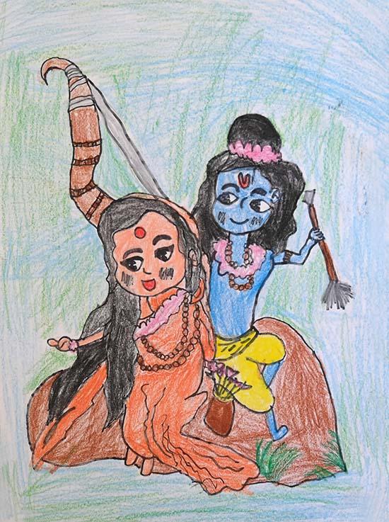 Vidhi Negi (7 years), Thane, Maharashtra