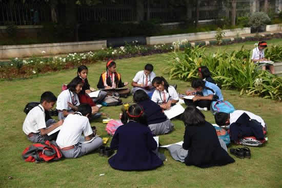 Painting Competition at University Garden - 1