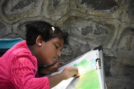 Painting Competition at University Garden - 12