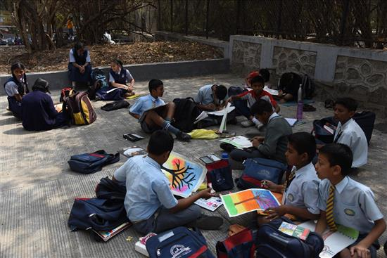 Painting Competition at University Garden - 16