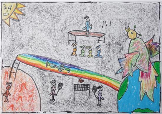 Ananya Pisharody (8 years), Gandhinagar, Gujarat