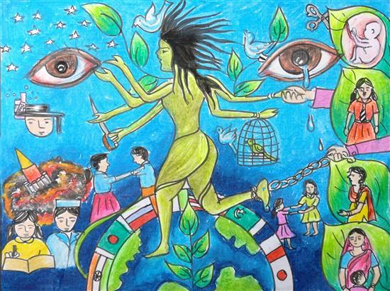 Isha Purohit (13 years), Jharsuguda, Odisha
