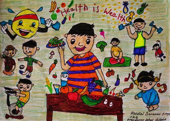 Hanshal Banawar (8 years), Bangalore , Karnataka