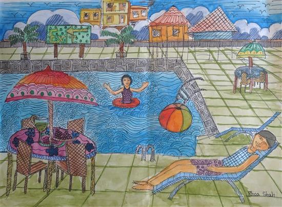 Rhea Shah (10 years), Mumbai, Maharashtra