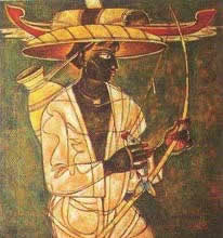 Fisher Man Painting by A. A. Almelkar