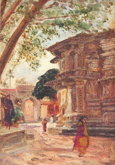 painting by Abalal Rahiman
