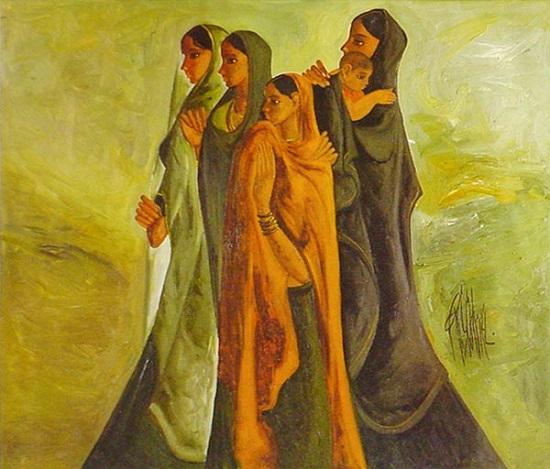 painting by B. Prabha