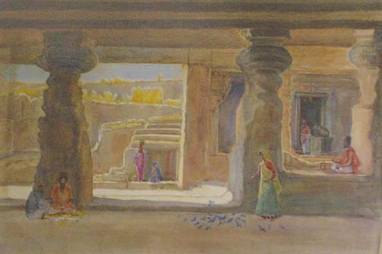 painting by D. C. Joglekar