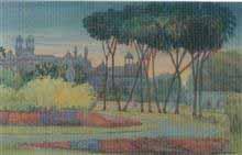 Musuem, Painting by D. C. Joglekar
