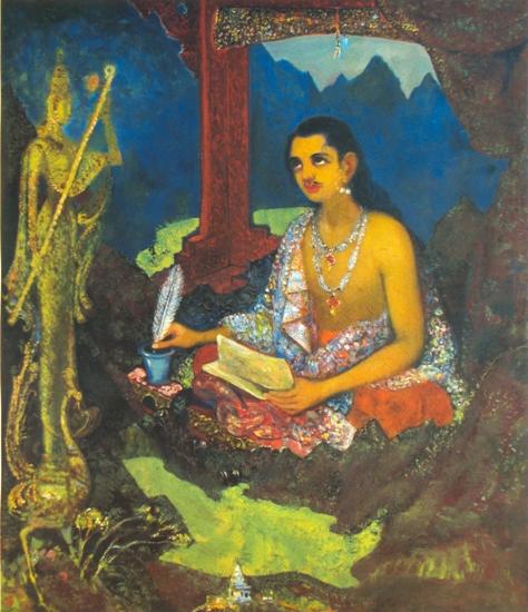 painting by D. J. Joshi