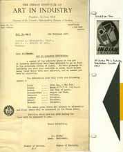 Art in Industry 1946, Testimonials - G. K. Deshpande